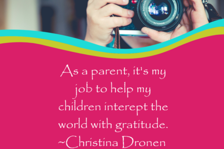 talking to kids about gratitude